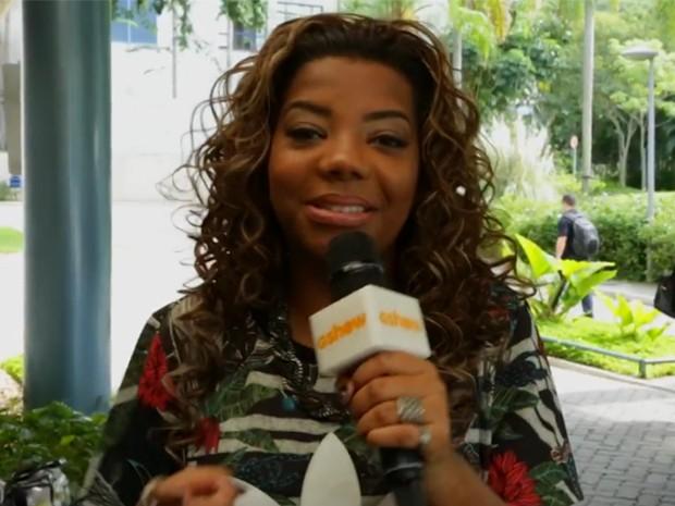 """Ludmilla ensina o hit de Pepito, o """"Funk do Peru"""" (Foto: Gshow)"""