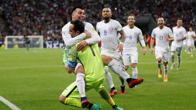 Portugal x Chile - Copa das Confederações 2017 - globoesporte.com cd6804426a6b8