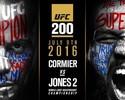 Agora é oficial: Daniel Cormier x Jon Jones 2 é a luta principal do UFC 200