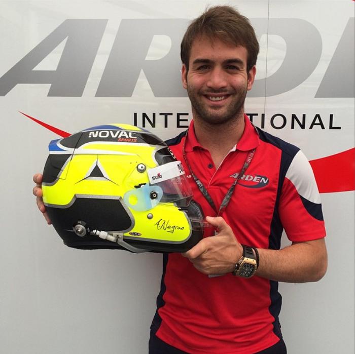 Capacete  - André Negrão - GP2