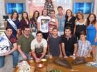 Elizabeth Savalla, Jonatas Faro e convidados estiveram no Encontro com Fátima Bernardes