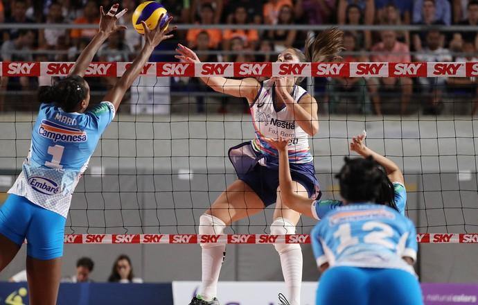 Minas x Osasco pela Superliga Feminina (Foto: João Neto/Fotojump)