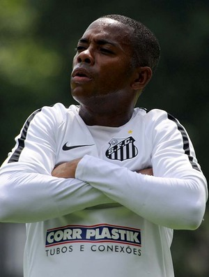 Robinho, Santos