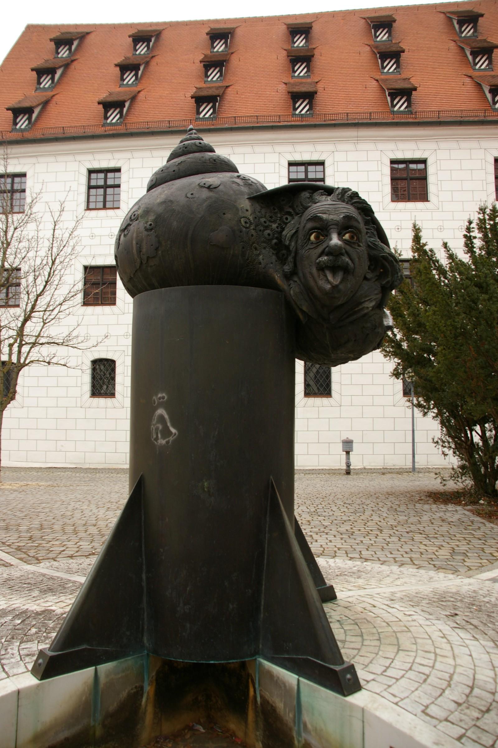 Einstein em Ulm, na Alemanha (Foto: Flickr/Katzemofmof)