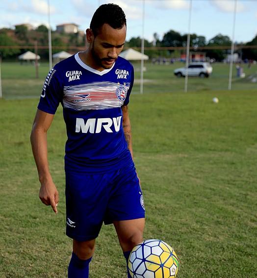 sem sofrer (Felipe Oliveira/Divulgação/EC Bahia)