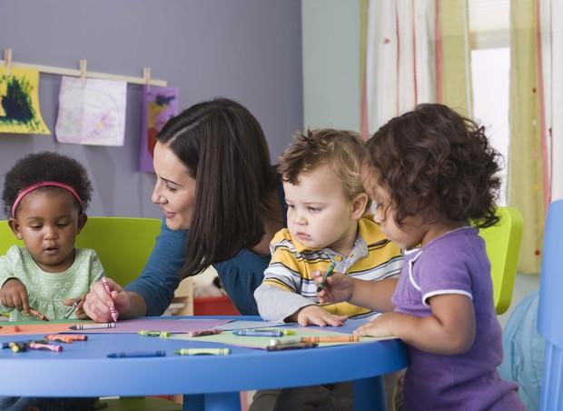 crianças; escola;  (Foto: Thinkstock)