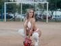 Mulher Melão revela inspiração de música nova: 'Meu novinho é jogador'