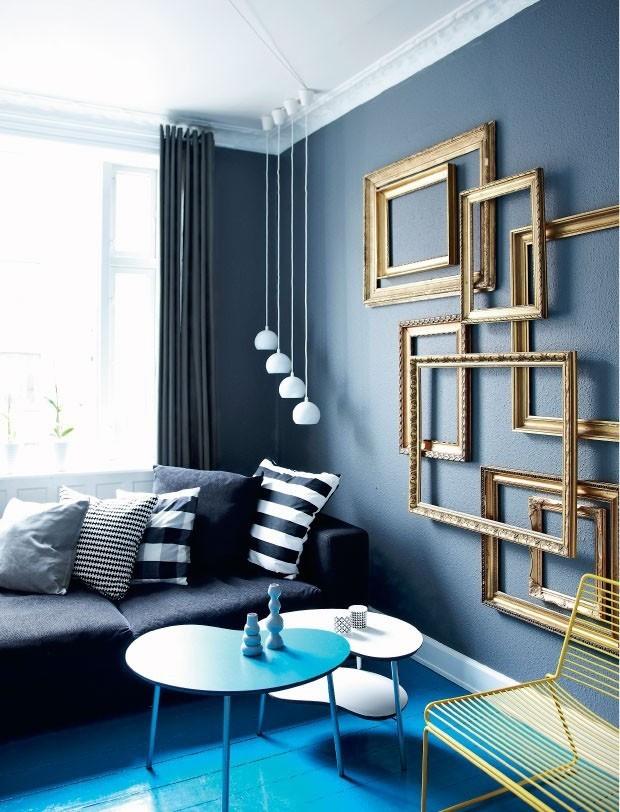 15 ideias para adotar as paredes escuras  Casa Vogue  Ambientes