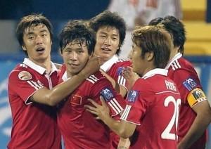 Seleção China Futebol (Foto: Associação Chinesa de Futebol / Divulgação)
