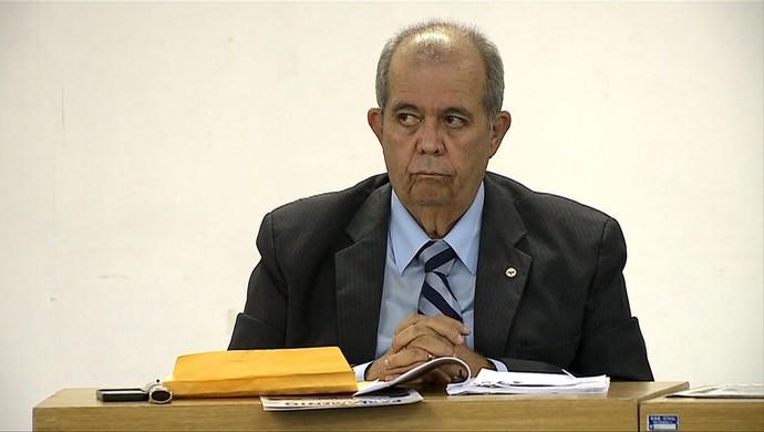 Celyrio Adamastor, juiz do Juizado do Torcedor (Foto: Reprodução/TV Gazeta)