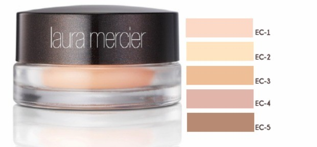Primer colorido para as plpebras Laura Mercier Eye Canvas, em cinco cores. (Foto: Reproduo/ 40 Forever)