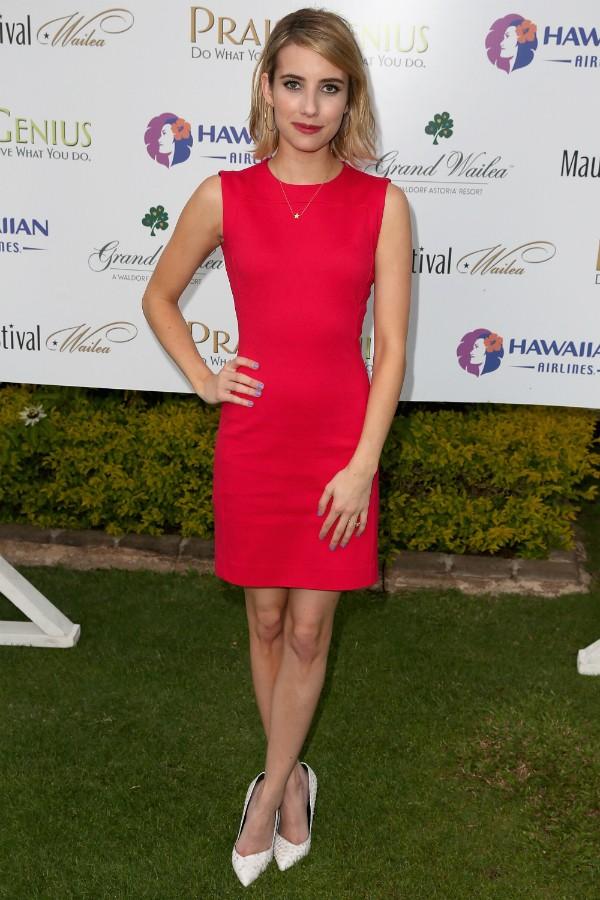 A atriz Emma Roberts (Foto: Getty Images)