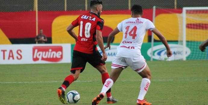 Dátolo no jogo entre Vitória e América-RN (Foto: Maurícia da Mata / Divulgação / EC Vitória)