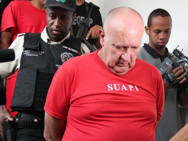 João Batista dos Reis é apontado pela polícia como mandante do crime (Foto: Jéssica Balbino/ G1)