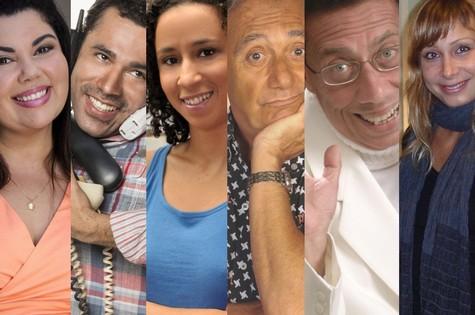 Parte do elenco do novo 'Zorra total' (Foto: Divulgação)