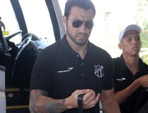 Goleiro Tiago voltou a jogar após mais de um ano (Foto: Divulgação/Cearasc.com)