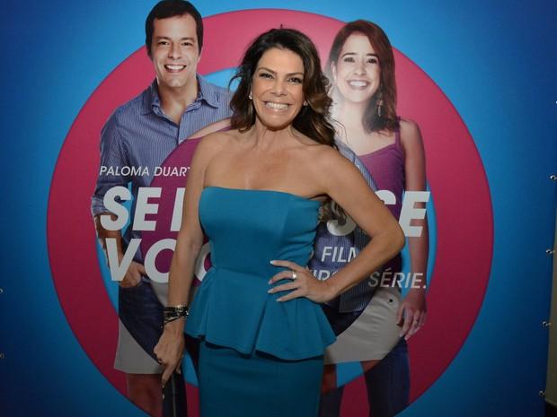 Gisele Fraga em evento no Rio (Foto: Léo Marinho/ Ag. News)