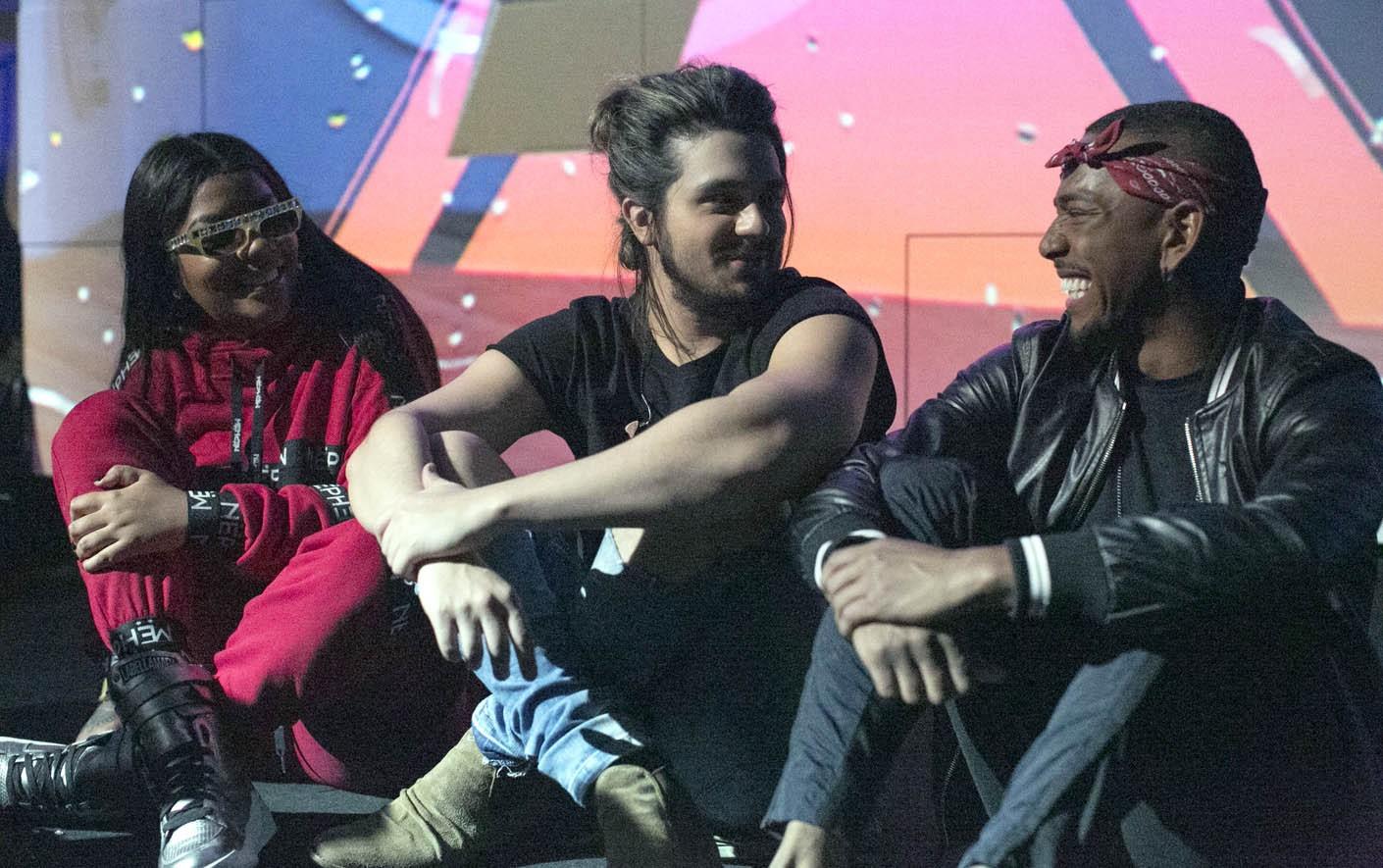 ENSAIO: Luan Santana, Ludmilla e Nego do Borel (Foto: Ana Luisa Marzano / Multishow)