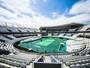 ITF diz que piso das quadras de tênis será repintado em outro tom de verde