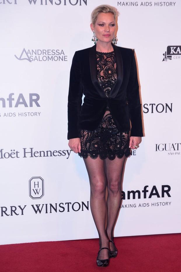 Kate Moss (Foto:  Léo Franco e Denilson Santos/AgNews)