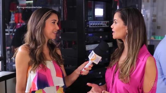 Lilly Araújo vive dia de radialista durante desafio do 'Fora do Ar'