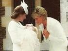 Montagem da princesa Diana no batizado de Charlotte vira hit na web