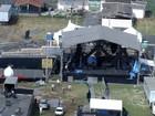 Parte de palco de show de Wesley Safadão cai em Sete Lagoas