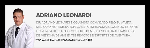 Adriano Leonardi ortopedista (Foto: editoria de arte)