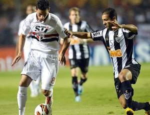 Ganso Pierra jogo São Paulo Atlético-MG Libertadores (Foto: AFP)