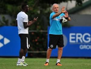 Joel e Dorival Júnior, Santos (Foto: Ivan Storti/Santos FC)