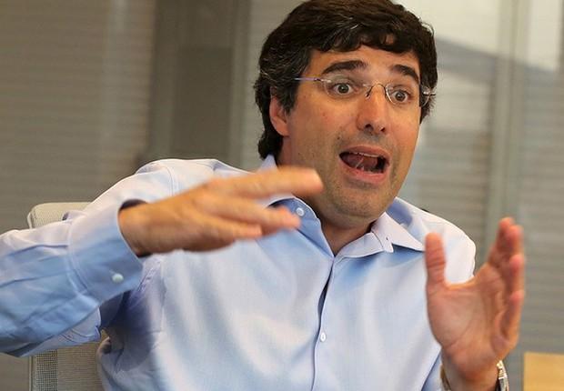O banqueiro André Esteves, do Banco BTG Pactual, concede entrevista em foto de julho de 2014 (Foto: Nacho Doce/REUTERS)