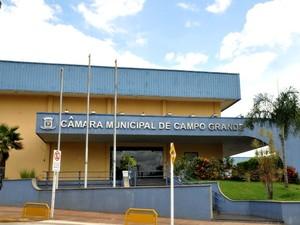 Câmara Municipal de Campo Grande MS (Foto: Yarima Mecchi/G1 MS)