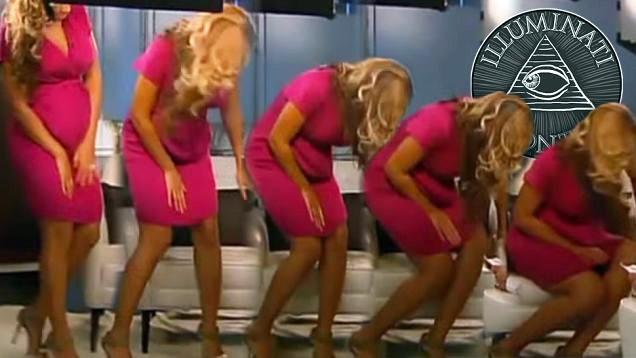 Beyoncé em participação no programa australiano Sunday Night (Foto: Reprodução)