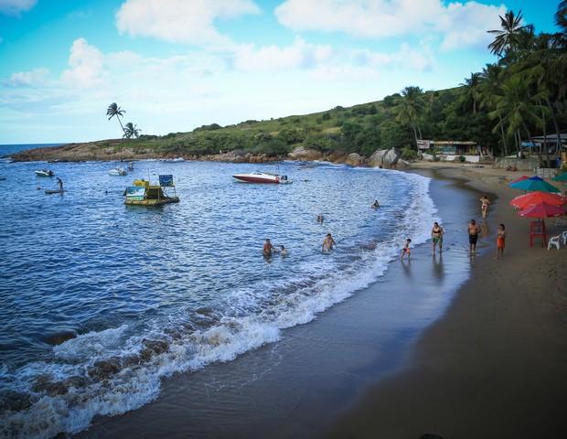 Praia de Calhetas (Foto: Wagner Ramos / G.LAB)