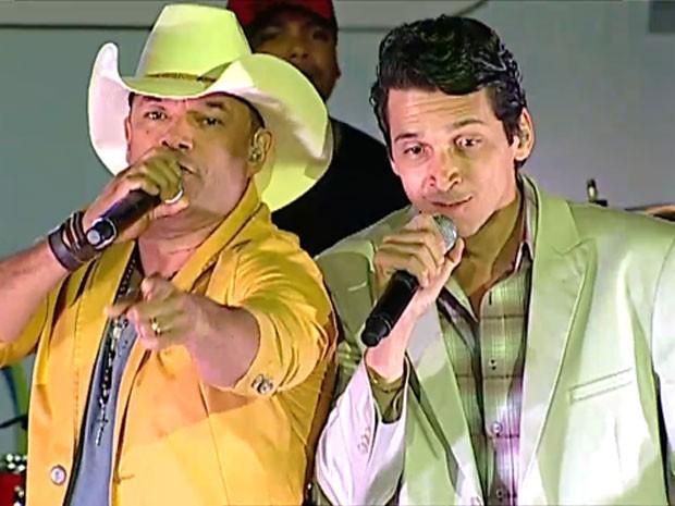 A dupla Pedro Paulo & Matheus (Foto: TV Globo/Reprodução)