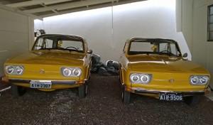 Duas Variant 1973 na cor Amarelo Safari (Foto: Divulgação)