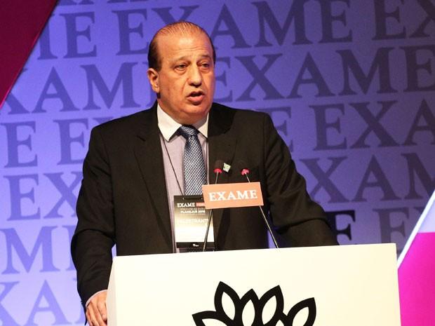 O ministro Augusto Nardes, do TCU, participou de fórum em São Paulo (Foto: Renato S. Cerqueira/Futura Press/Estadão Conteúdo)