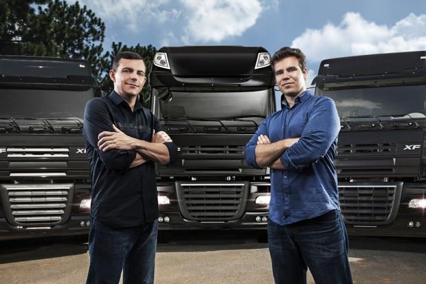 Alan Rubio, diretor de logística, e Federico Vega, presidente do CargoX (Foto: Divulgação)