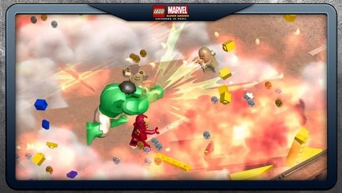 Jogo de LEGO traz os heróis da Marvel como Home de Ferro e Hulk (Foto: Divulgação)