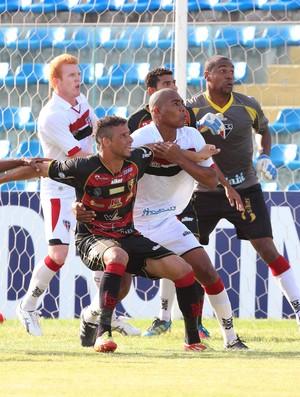 Ferroviário x Guarani de Juazeiro pelo Campeonato Cearense no PV (Foto: JL Rosa/Agência Diário)
