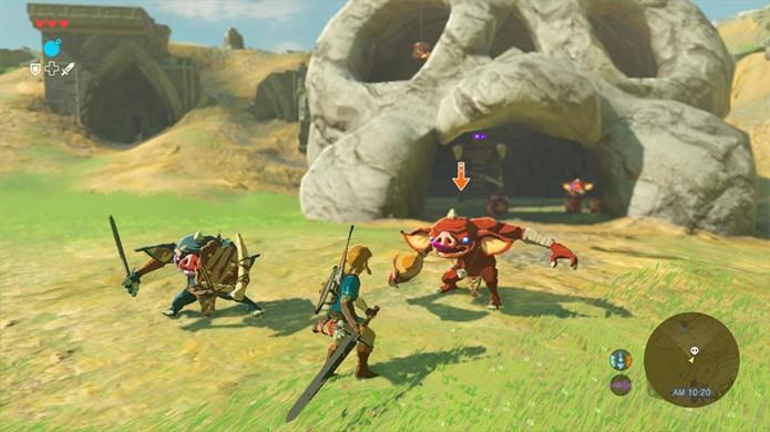 The Legend of Zelda: Breath of the Wild irá aprofundar os combates da série como mostrado em demo da E3 2016 (Foto: Divulgação/Nintendo)