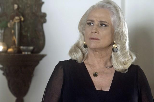 """Vera Holtz é Magnólia em """"A lei do amor"""" (Foto: Reprodução)"""
