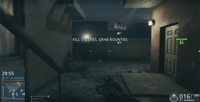 Inicie a partida e busque os inimigos (Foto: Reprodução/YouTube)