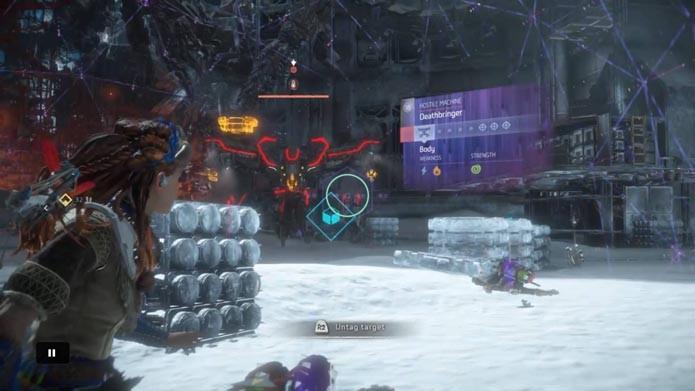 Encontre as fraquezas do inimigo de Horizon: Zero Dawn (Foto: Reprodução/Murilo Molina)