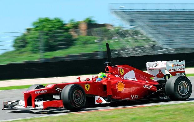 Felipe Massa no teste da F1 em Mugello (Foto: EFE)