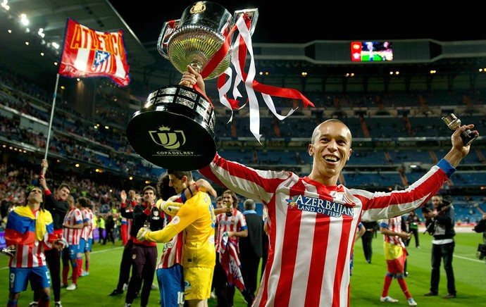 Miranda Atlético de Madri Copa do Rei (Foto: Getty Images)