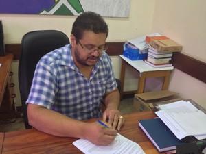 Doutor da Ueap Breno Silva diz que não vai haver consequências se manejo seguir legislação (Foto: Abinoan Santiago/G1)