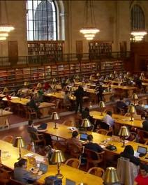 Biblioteca em NY
