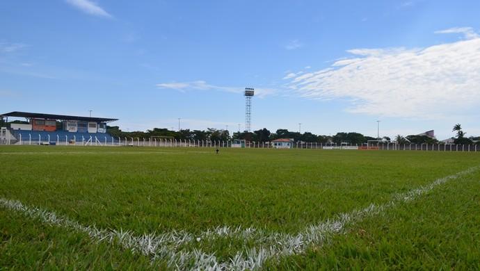 Estádio Portal da Amazônia, Vilhena, RO (Foto: Jonatas Boni)