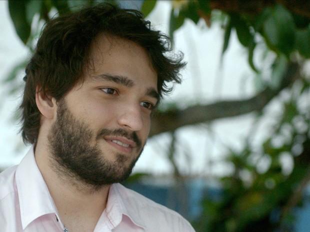 Humberto Carrão em cena de 'Aquarius' (Foto: Victor Juca/Divulgação)